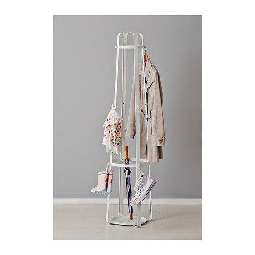 IKEA ENUDDEN - Hat y perchero, blanco - 170 cm: Amazon.es: Hogar