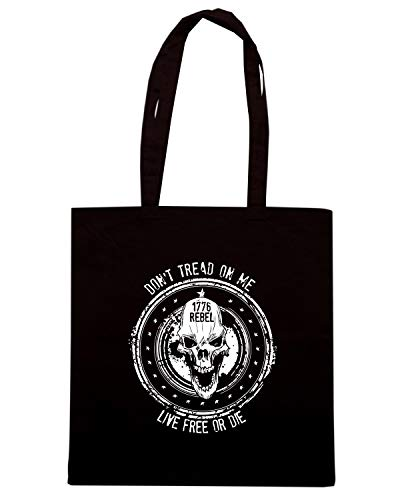 AMERICAN ON Shopper SKUL REBEL TREAD Nera DONT ME TM0612 Borsa AqfnwHp0A7