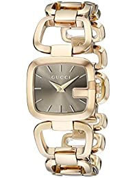 G-Gucci Gold PVD Womens Watch(Model:YA125511)
