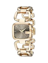 Gucci Women's YA125511 G-Gucci Gold PVD Watch
