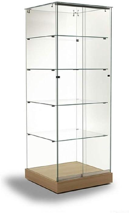 Vitrina en Cristal D1, Modelado, coleccionismo, estantes de ...