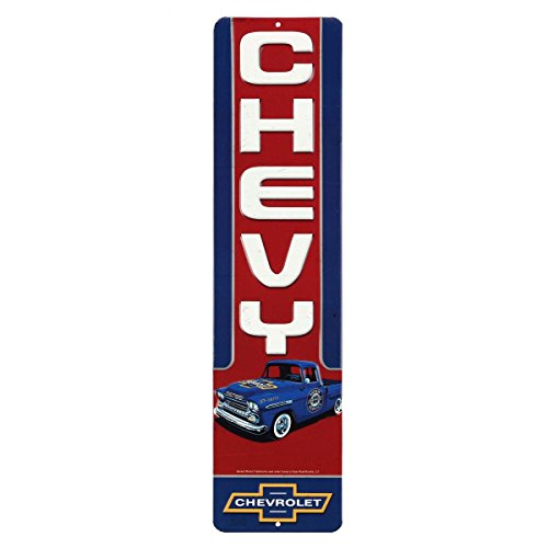 - Open Road Brands Chevy Truck Embossed Tin Sign
