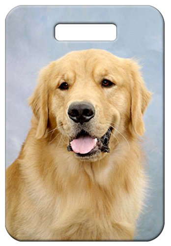 Canine Designs Set of 2 Golden Retriever Luggage Tags