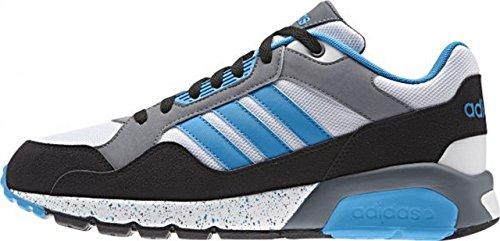 adidas RUN9TIS - Zapatillas para hombre Blanco / Azul / Negro / Gris
