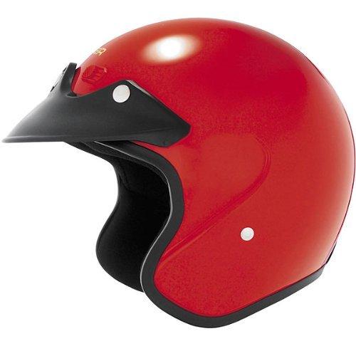 Cyber Helmets U-6 Solid Helmet , Size: 2XL, Distinct Name: Red, Helmet Category: Street, Primary Color: Red, Helmet Type: Open-face Helmets, Gender: Mens/Unisex ()