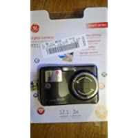 GE RS1200 12.1MP Digital Camera