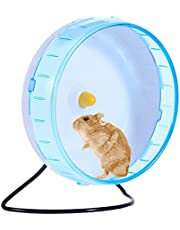 iFCOW Pet Running Wheel, Pet Mouse Silent Running Spinner Exercise Wheel Toy for Rodents Mice Hamster
