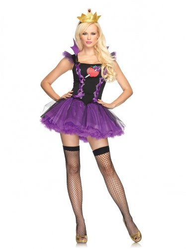 Wicked Queen Sexy Costumes (Sexy Evil Queen Costume - M/L)