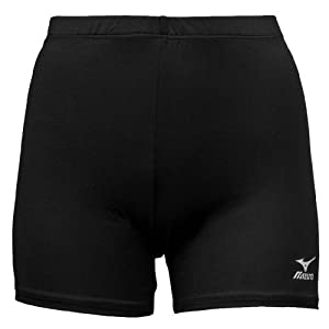 Mizuno Vortex Volleyball Short, Black, Large