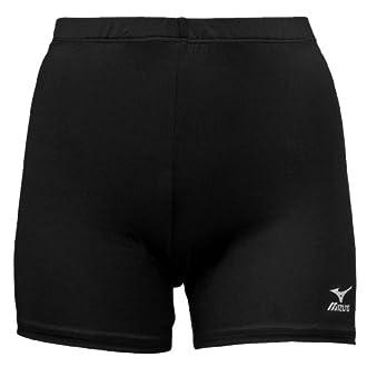 Mizuno Vortex Volleyball Short, Black, Large