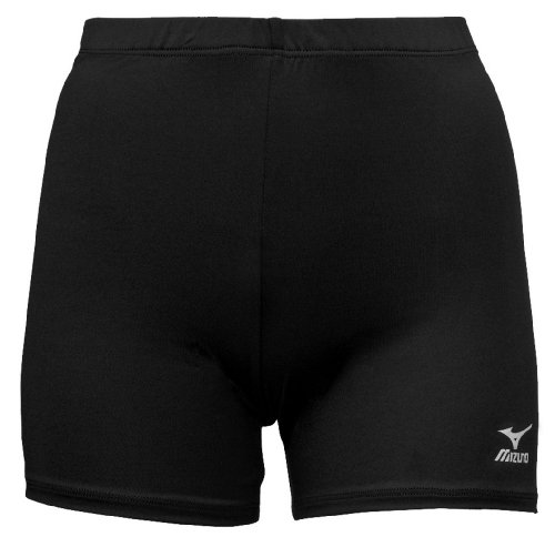 - Mizuno Vortex Volleyball Short, Black, Small
