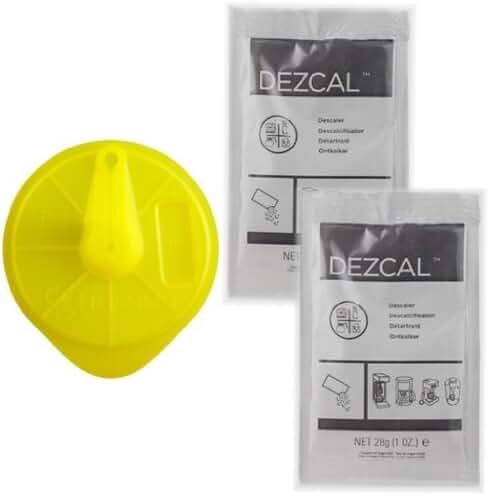 Braun Tassimo Cleaning Disc + 2 Packs Dezcal Descaler