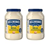 Hellmann s Real, Mayonnaise, 48 oz, Twin Pack