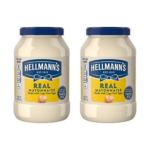 Hellmanns Real, Mayonnaise, 48 oz, Twin Pack