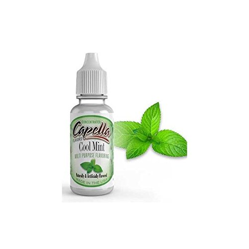 Capella Flavor Drops Cool Mint Concentrate 13ml (Best Strawberry Shortcake E Liquid)