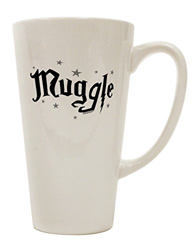 - TooLoud Muggle 16 Ounce Conical Latte Coffee Mug