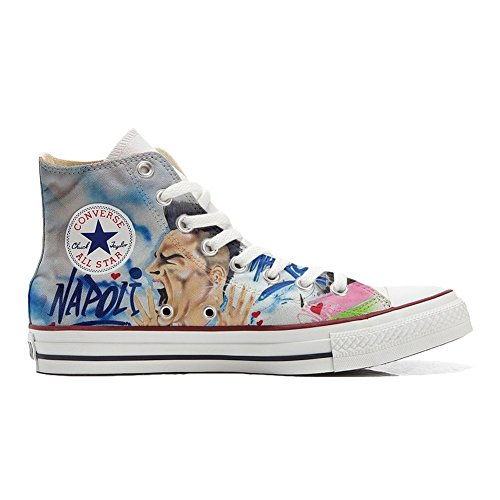 Star Personnalisé Chaussures Artisanal All Unisex Hi Imprimés Et Sneaker Coutume Converse Soccer Italien produit HqYx5gI