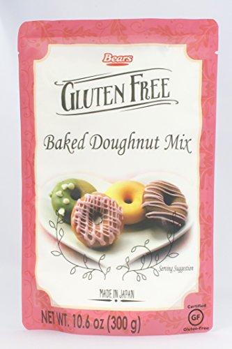 Kumamoto Flour Milling Gluten Free Baked Doughnut Mix, 10.6 Ounce