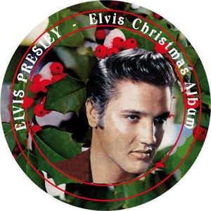 (Elvis Presley - Elvis Christmas Album [LP] (Picture Disc, import))