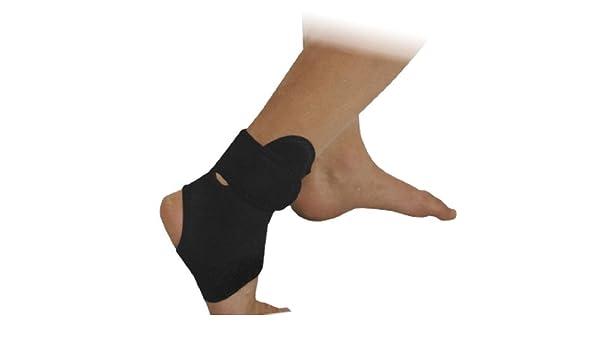 Amazon.com: eDealMax neopreno al aire Libre Para adultos estiramiento del tobillo de protección apoyo de la ayuda del Abrigo Protector M Negro: Health ...