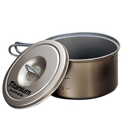 Evernew Titanium Non-Stick Pot, 1.9-Liter by EVERNEW