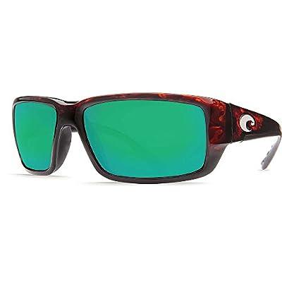 Costa del Mar Unisex-Adult Fantail TF 11 OBMGLP Polarized Iridium Rectangular Sunglasses