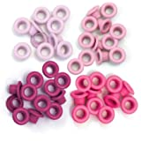 We R Memory Keepers Eyelets for Scrapbooking, Pink, Standard