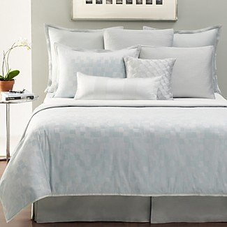 Hudson Park Collection Mirrors Full/queen Coverlet - Lt. Pastel Blue by Hudson Park