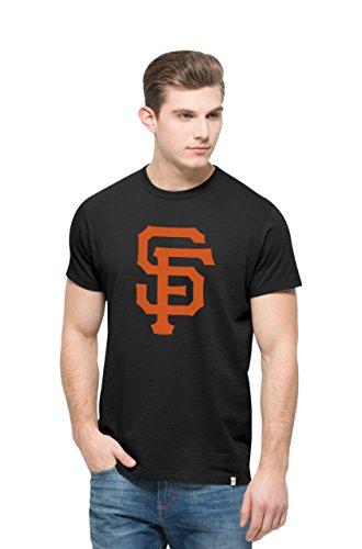 MLB San Francisco Giants Men's All Pro Flanker Tee, Jet Black, X-Large