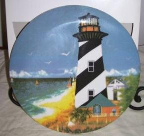 Reston Lloyd Lighthouse Trivet Melamine 8