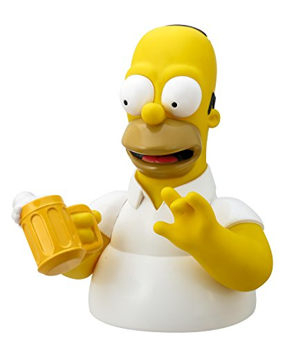 Simpsons The Homer with Mug Bust Bank Action Figure (Simpsons Bank)