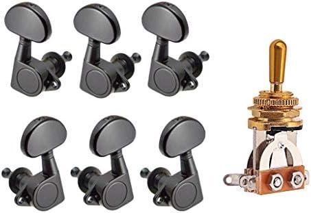 Selector Interruptor Palanca 3 Vías 6 Pcs Sellados Afinadores ...
