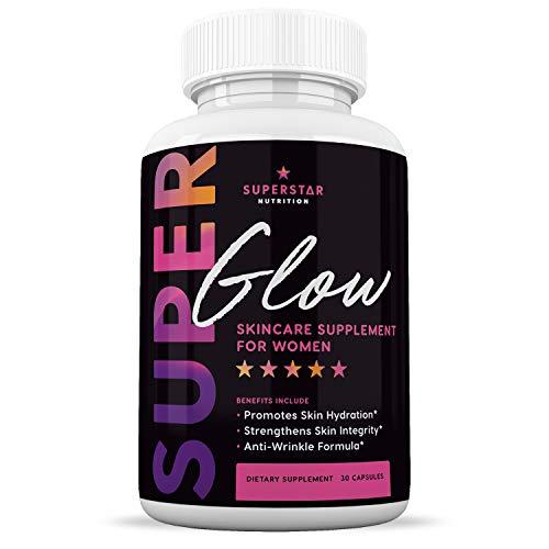 Best Phytoceramides Skin Supplement Vitamins for Women - Phytoceramide Anti Aging Supplements - Dry Skin Hydration Pills - Plant Derived Ceramide Capsules - 30 Gluten Free Ceramides Supplements