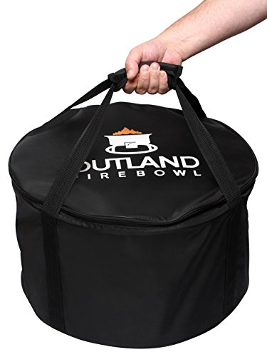- Outland Firebowl UV and Weather Resistant 760 Standard Carry Bag, Fits 19-Inch Diameter Outdoor Portable Propane Gas Fire Pit