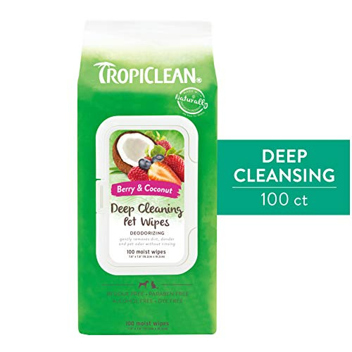 TropiClean Wipes for Pets