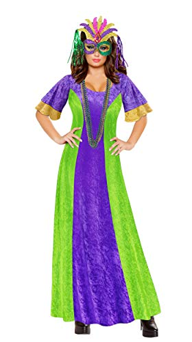 Mardi Gras Fat Tuesday Plus Size Halloween Costume Basic Kit 3X]()