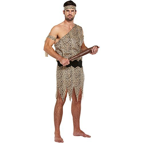 Caveman Adult Fancy Dress Costume