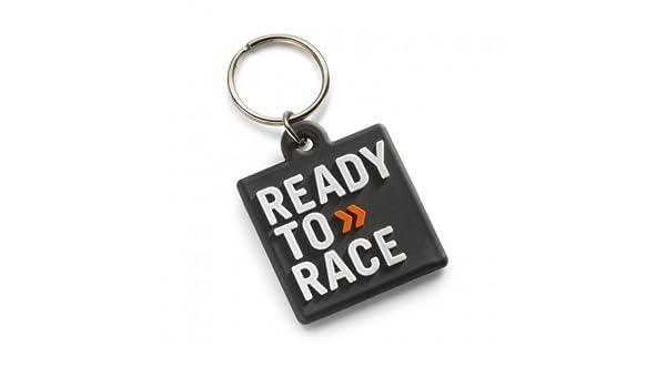 Original KTM Rubber Llavero Ready to Race Negro: Amazon.es ...