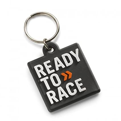 Original KTM Rubber Llavero Ready to Race Negro: Amazon.es ...