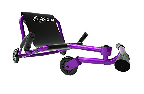 EzyRoller Ride On Toy - New Twist On A Classic Scooter - Purple