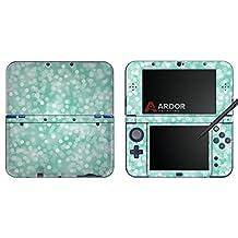 Aqua Sparkles Nintendo 3DS XL Skin/Decal