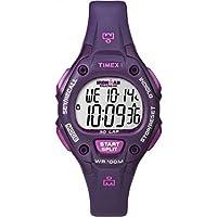 Timex Women's Ironman 30-Lap Digital Quartz Mid-Size Watch, Plum/Magenta - T5K7569J