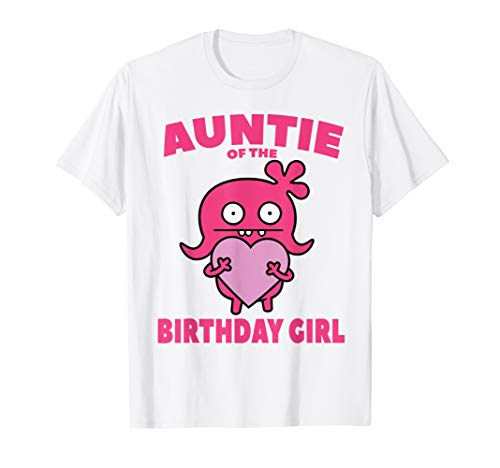 Ugly Dolls Shirt Moxy Auntie of the Birthday Girl T-Shirt]()