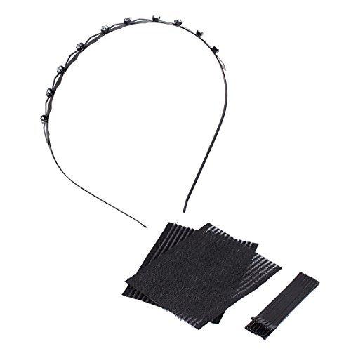 Aro Tool (Rhinestone Inlaid Hair Hoop Bangs Paste Hairpin Hairstyle Tool)