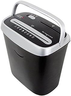 Olympia PS 43 CCD Aktenvernichter, Partikelschnitt 4 x 30 mm, Papierkapazität (80 g/m²), 5 Blatt für CDs, DVDs und Kreditkarten, silber/schwarz