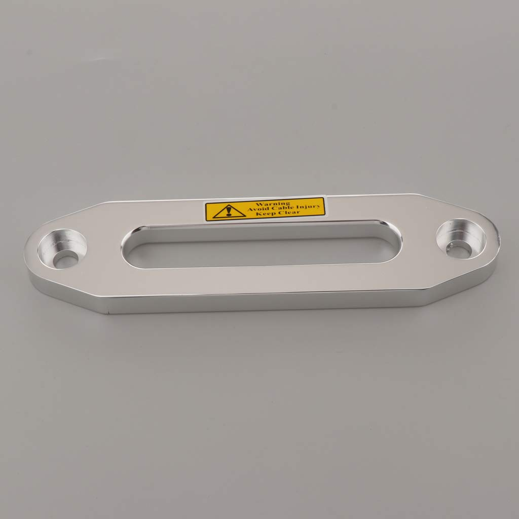kesoto Rodillo De La Gu/ía De Cable De La Cuerda Del Cabrestante Rodillo De Aleaci/ón De Aluminio Para 6000 LBs Winch
