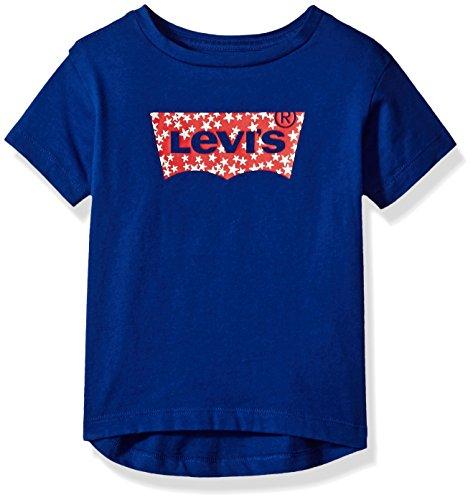 (Levi's Girls Batwing T-Shirt, Sodalite Blue, 3T )