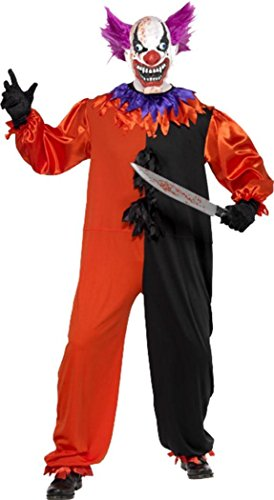Cirque Sinister Scary Bo Bo The Clown Costume Large