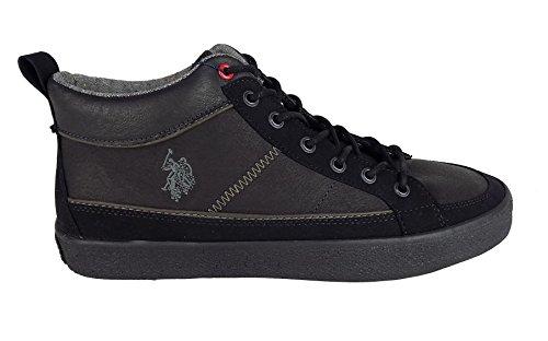 U.S.Polo Vigor4199w7ls1 Blk, Herren Sneaker