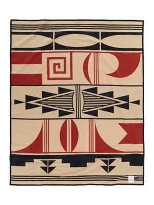 American Native Pottery Southwestern (Gift Of The Earth Blanket by Pendleton)